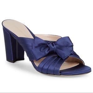 Stuart Weitzman Bow Block Heel Sandals Size 6US
